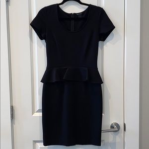Club Monaco peplum dress